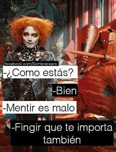 Tumblr Quotes, Sad Quotes, Sarcasm Quotes, Sad Words, Sad Love, Disney Quotes, Spanish Quotes, Funny Memes, Kawaii