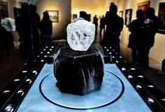 The 1,109-carat Lesedi La Rona diamond, on view at Sotheby's in New York in May.