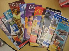 This would be a great writing center activity.  The students choose a brochure and write to their parents persuading them to go on a specific vacation.