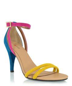 Yellow Delma Sandal