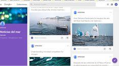 """Blog """"La Caracola"""" - Diario de a bordo - Aprocean   Noticia del día: Olas de calor más fuertes, largas y frecuentes en aguas marinas  Enlace: http://aprocean.blogspot.com.es/   Noticias del Mar: https://plus.google.com/u/0/108039588...  Aprocean en las redes sociales:   Blog http://aprocean.blogspot.com.es/  Canal del Mar: https://www.youtube.com/c/CanaldelMar  Twitter: https://twitter.com/aprocean  Pinterest: https://www.pinterest.es/aprocean/1a-...  Google…"""