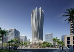 Zaha Hadid Architects to build Qatari hotel based on a flower.