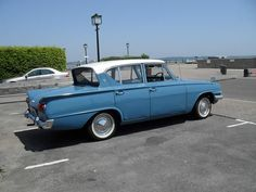 1960'S FORD CONSUL CLASSIC . Ha! ... We put a V6 3litre Zodiac engine in one - went like a bullet :-)