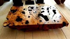 solid olive root table by AndreasStavrinides on Etsy