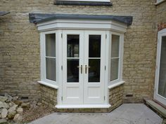 Beautiful hardwood timber windows and doors. Made to measure in our joinery using high quality hardwood and softwood. French Doors Patio, Patio Doors, Entry Doors, Front Doors, Sliding Doors, Timber Windows, Windows And Doors, Bay Window Exterior, Concertina Doors