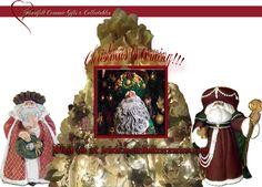 Santa's  a plenty from Heartfelt Ceramic Gifts & Collectables