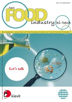 Healthier food, functional food, nutraceuticals  are the main topics of Agro FOOD INDUSTRY Hi-tech. All topics follow two different pathways complementary to each other: the ever increasing request for ingredients meeting people's new life and dietary habits as well as the need to provide studies on men's and women's health problems from early childhood to old age.