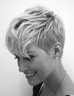 Don't know if I could pull this off with my hair but it's a fantastic cut