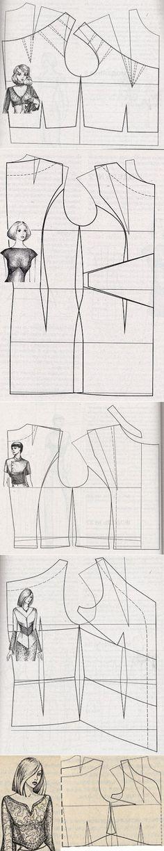 sewing bluse...♥ Deniz ♥