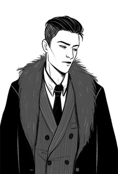 i am BEGGING u to draw more six of crows pls!!!!...