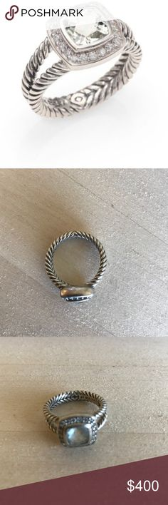 David Yurman Ring Petite Albion ring. Will take an offer. Comes with David Yurman jewelry pouch. Just recently cleaned, barely worn. David Yurman Jewelry Rings