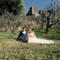 Caroline and John were married in March just outside of Rome in Italy, at the beautiful Borgo di Tragliata.