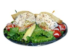 Lindy's Fav Sandwich- You know a sandwich is good when it's the owner's favorite. Premium smoked turkey is layered with tomato, sprouts and mayo on wheat bread.... definitely makes a meal!
