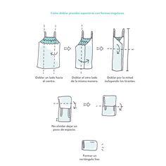 Cómo-doblar-prendas-superiores-Marie Kondo