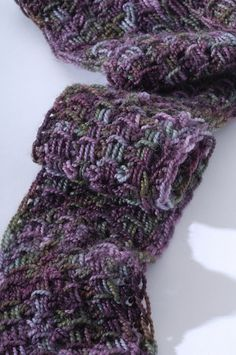 Grecian ladders scarf - tunisian crochet by Sharon Silverman