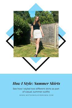 Leopard Print Sandals, Casual Outfits, Summer Outfits, Daytime Outfit, Blue Denim Skirt, Summer Skirts, Summer Essentials, Summer Months, Skirt Fashion