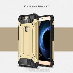 Huawei Honor V8 Case, Cocomii [HEAVY DUTY] Commando Case :::NEW::: [ULTRA BONIC ARMOR] Premium Dustproof Shockproof Bumper [MILITARY DEFENDER] Full-body Rugged Dual Layer Hybrid Cover (Gold) -- Awesome products selected by Anna Churchill