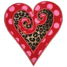 Swirled Heart Applique - Embroidery Boutique This one does the inside placement and tack down, trim that and then the outside placement and tack down. Once the inside top fabric is trimmed, the bottom fabric will show. I hope this helps.