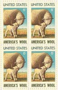 America's Wool Set of 4 x 6 Cent US Postage Stamps NEW Scot 1423 . $2.70. One set of four (4)America's Wool  4 x 6 Cent postage stamps Scot #1423