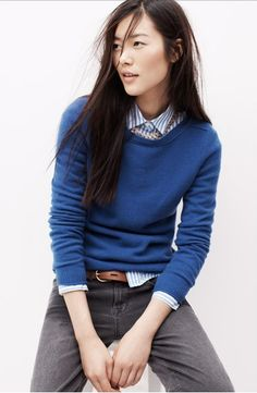 boatneck sweater - Madewell #FW2013