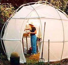 portable greenhouse geodesic domes via designboom