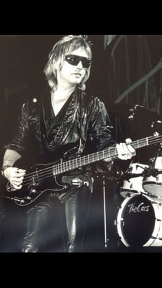 Benjamin Orr 1987 I bought this from someone last year they never had this one  shown where they were selling photos, they had similar ones for sale so I guess it's a little rare. This is a picture I left at his grave.-Billie F.