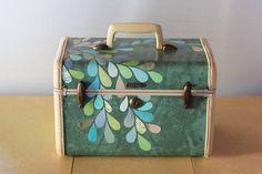 Decorated train case