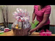 Gift Basket Instructions - How to Make a Beautiful Gift Basket for Valentine's Day - Giftbasketappeal