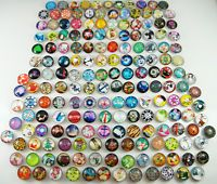 new mix High quality Alloy Round Chunks Snap Button Charm Wholesale free Choose