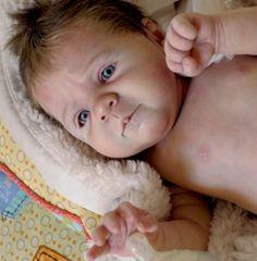 MELISSA GEORGE Reborn Baby PROTOTYPE Sili **EXTREMELY DETAILED** | eBay