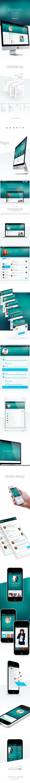 Blabroom.com re-design by basov design, via Behance
