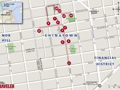 Walking Tour of Chinatown San Francisco