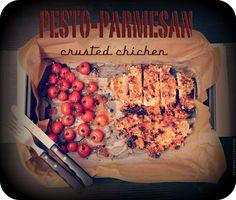 Merceditas Bakery: Pollo con costra de Parmesano y Pesto Rosso