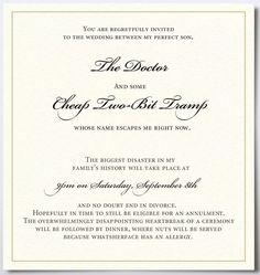 Unique wedding invitations   Unique Wedding Invitations (15:Geoffri's blog:So-net???