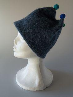 filtet strikket hat gratis opskrift