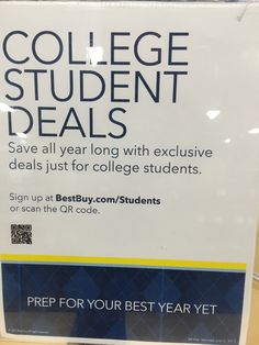 Best Buys College S