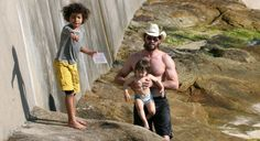 Hugh Jackman and his children