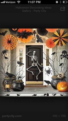 Halloween house warming