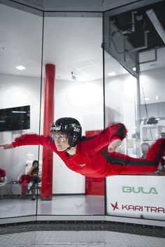 Indoorskydiving!