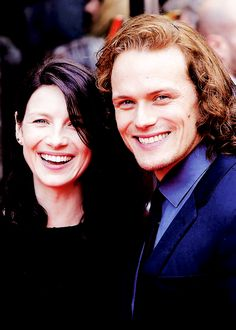 Jamie & Claire from the Outlander series