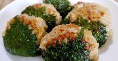 味噌ベースの鶏つくねに大葉とチーズの組み合わせが最高!見た目も美しいのでおもてなし料理にぴったり。