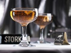 Stork Club Champagne Coupe (Set of 2) by Restaurant Museum. $24.00. Packed in Gift Box with cocktail recipe and beverage coasters from the Stork Club. 5.5-ounce (163 ml) vintage-style Champagne Coupe, Gift Box Set of 2. Each measures 4 1/2-inches tall with rim diameter of 3 1/4-inches and 2 3/4-inch base. Designed to cocktail-bar standards; doubles as a retro cocktail glass or martini glass. Original 1940s-era glass used at New York's legendary Stork Club. With the repe...