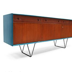 Fears and Kahn, Sigmar Scandinavian Sideboard, refurbished 1960s.