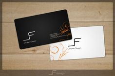 black & white bussiness cards