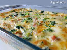 Pastel de Brócoli y Pavo | Recetas Faciles Reunidas