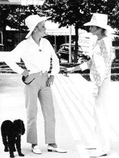 in between filming of Les Demoiselles de Rochefort Catherine Deneuve, A Moment In Time, French Actress, Panama Hat, Vintage Dresses, Sisters, Actresses, Actors, Film