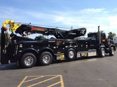 Waffco Heavy Duty Towing & Recovery, Lake Station IN - Kenworth T800 Twin Steer w/ Jerr Dan 85 ton rotator