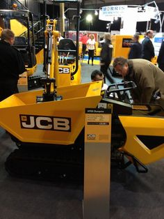 JCB Compact machinery @ExecHireShow Thanks to @bisonplanthire for photo