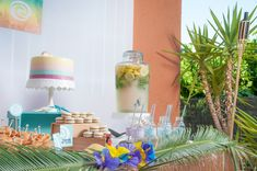 Moana Tropical Birthday Party - Birthday Party Ideas for Kids and Adults Birthday Party Treats, Moana Birthday Party, Birthday Party Decorations, Birthday Party Invitations, Baby Shower Decorations, Party Themes, Birthday Parties, Party Ideas, Bridal Shower Cakes