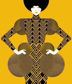 Ilustración. Illustration - Malika Favre